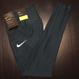 Nike Bottoms - Nike POWER tight fit (girls S)